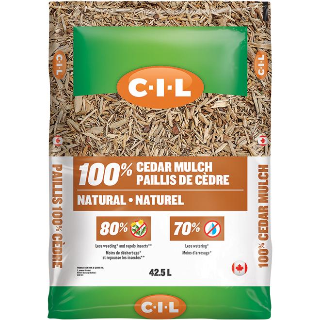 C-i-l Cedar Mulch - 42.5 L - Natural 2827871