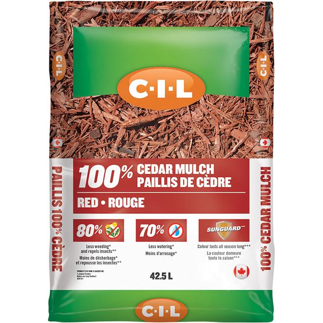 C-i-l Cedar Mulch - 42.5 L - Red 2827881