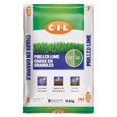 Chaux en granules C-I-L, 80 sacs, 11,3 kg