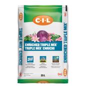 C-I-L Enriched Soil 3-in-1 - Bag of 25 Litres