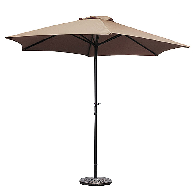 Umbrella - Polyester - 7 1/2' - Taupe