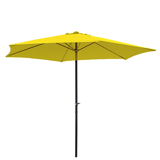 Umbrella - Polyester - 7 1/2' - Yellow