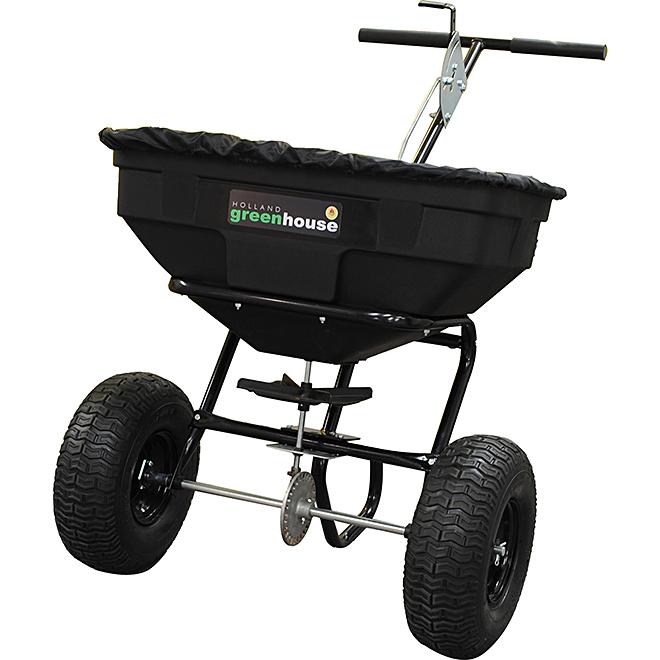 Spreader - 125 lb. Capacity - Black
