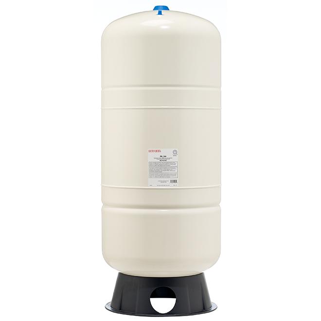 Réservoir vertical,  préchargé, 34 gal, blanc
