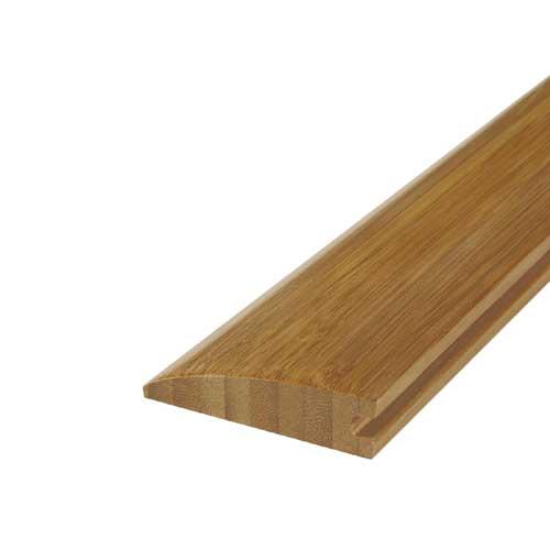 """Moulure de réduction, bambou, 1/2"""" x 73"""", carbonisé"""