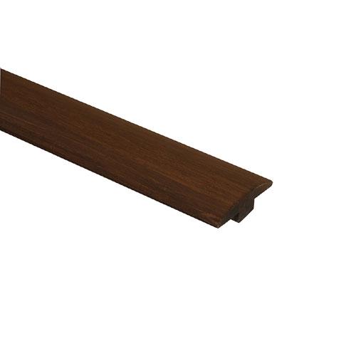 Moulure en T pour plancher de bambou 72 po, Bora