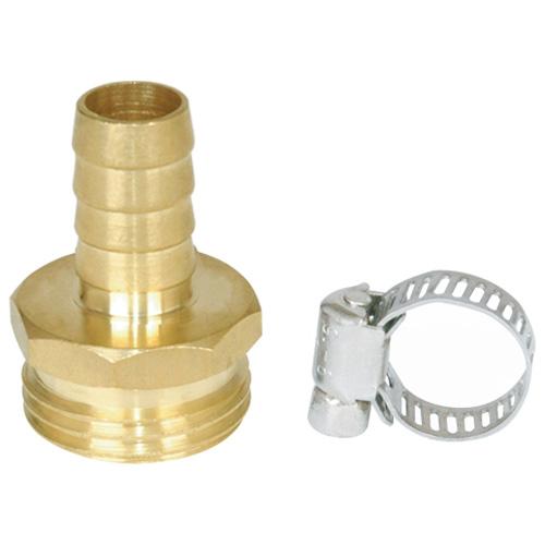 "Male coupling - 5/8"" - Brass"