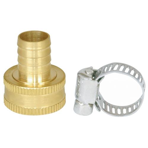 """Femal coupling - 5/8"""" - Brass"""