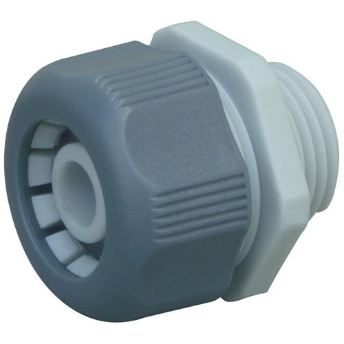 "Male connector - 3/4"" - PVC"