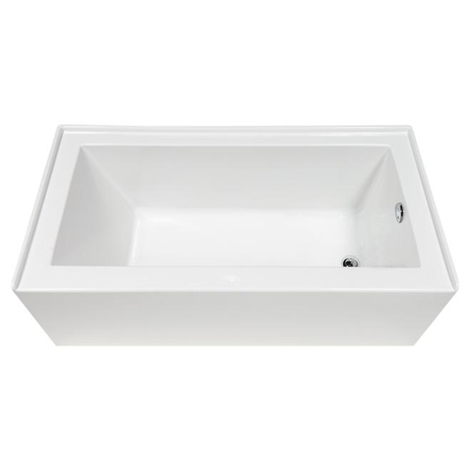 Baignoire «Elara», acrylique, blanc