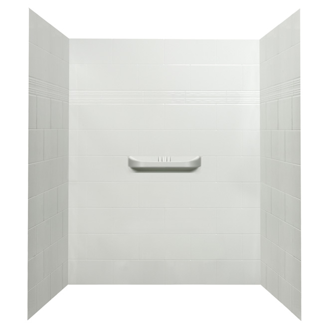 3-Piece Shower Wall - Supreme - 48""