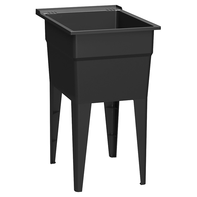 Narrow Laundry Tub - Black
