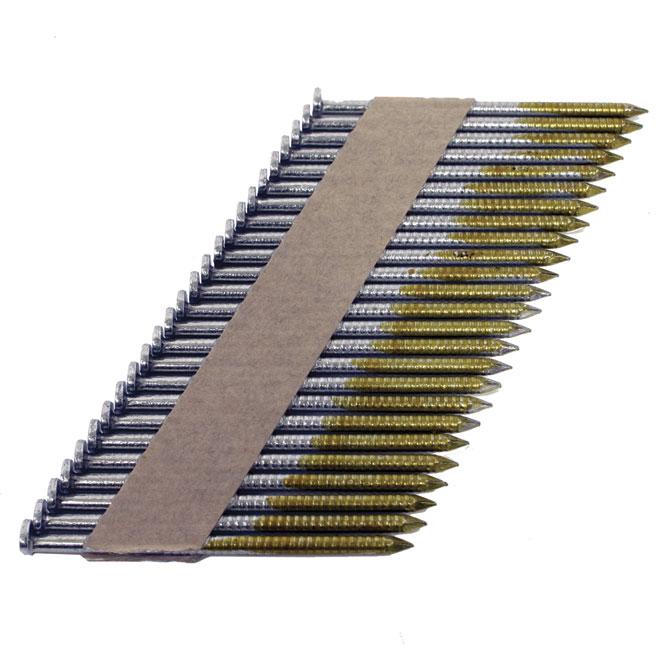 "Framing Nails - Strip - Galvanized - Ring - 2 3/8"""