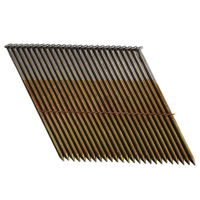 "Framing Nails - Strip - Smooth - Clipped - 3 1/4"""