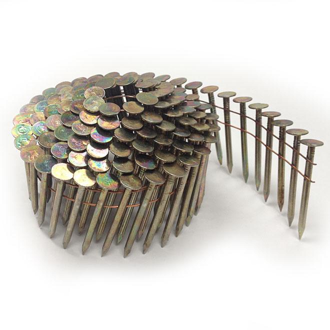 Clou à toiture sur rouleau, 1 3/4 po, boîte de 7 200