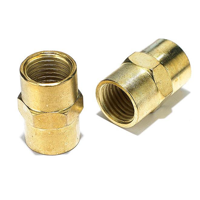 """Raccord de tuyau pour compresseur à air, 1/4"""" femelle, 2/pqt"""