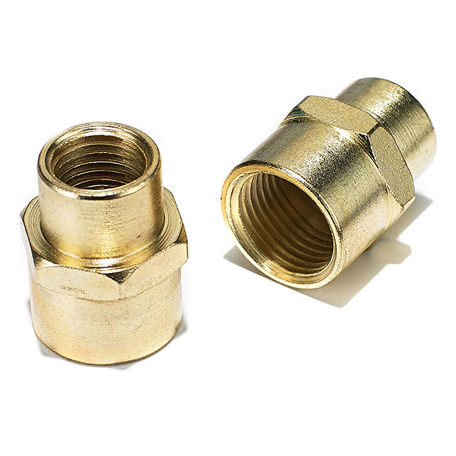 "Air Compressor Reducers - 1/4""-3/8"" Female NPT - 2 Pack"