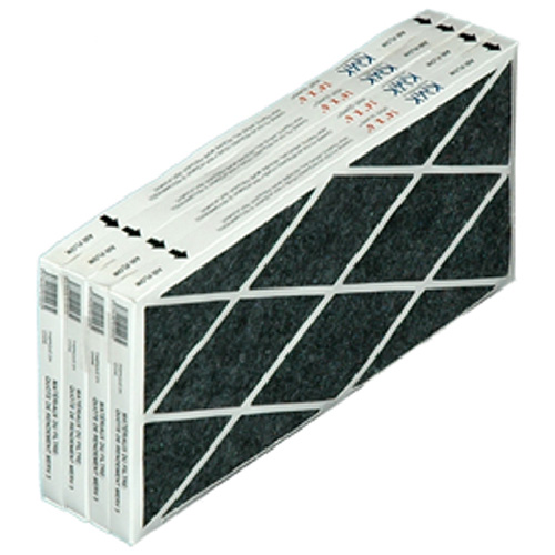 """4-Pack 14"""" x 6"""" Baseboard Grille Filters"""