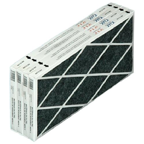 """Paquet de 4 filtres 14"""" x 6"""" pour grille de plinthe"""