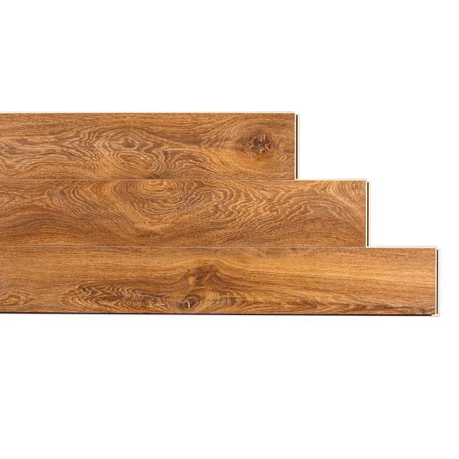 Plancher stratifié « Megaloc » 12mm, Chêne Poellau