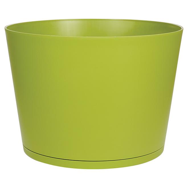 Pot empilable « Tokyo », 20 po, vert