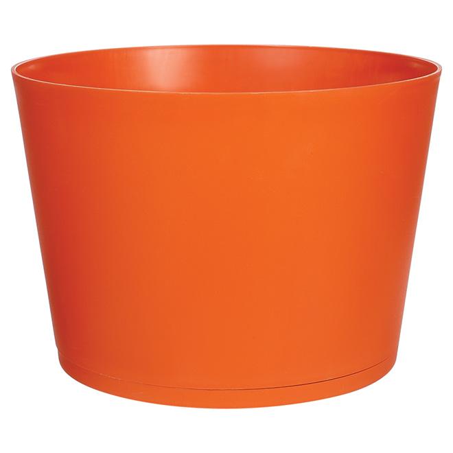 """Tokyo Stackable Planter - 20"""" - Orange"""
