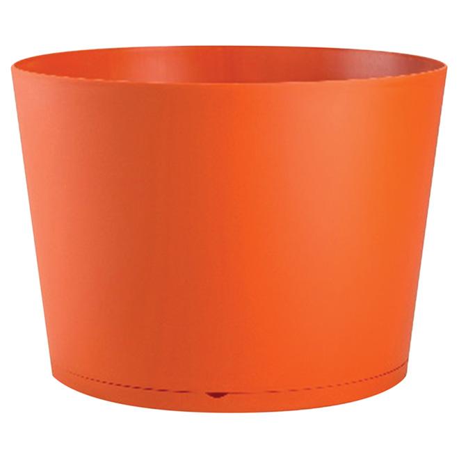 """Tokyo Stackable Planter - 14"""" - Orange"""