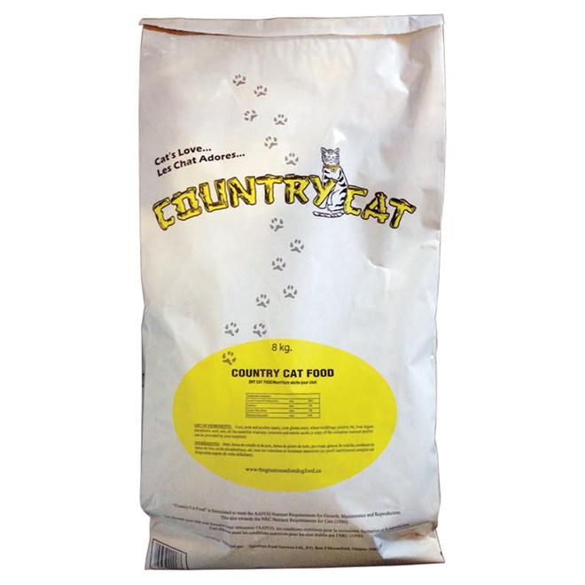Nourriture sèche pour chat, 8 kg