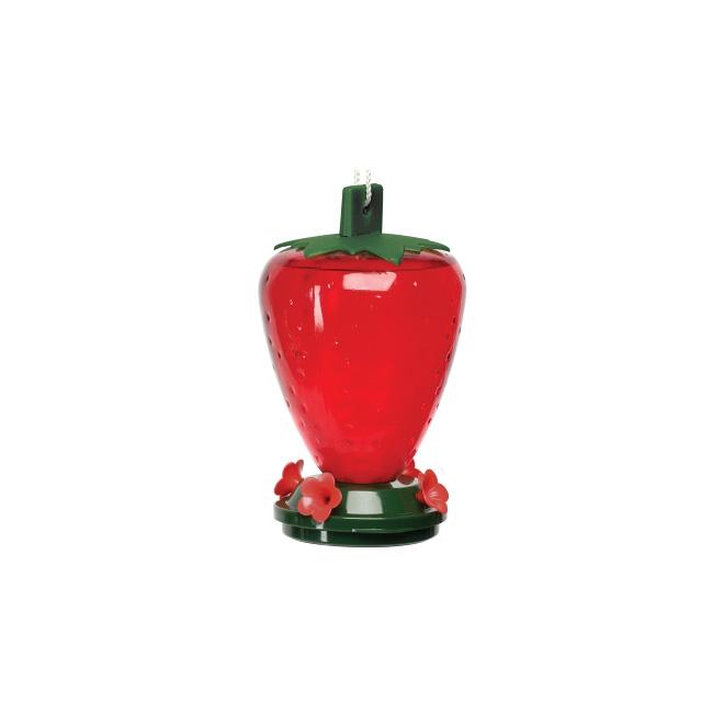 Bird Feeder - Hummingbird Feeder - Strawberry - 50 oz