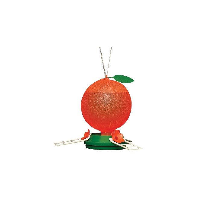 Bird Feeder - Hummingbird Feeder - Orange - 40 oz