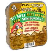 Suif pour oiseaux, pain de suif Délice aux arachides, 333 g
