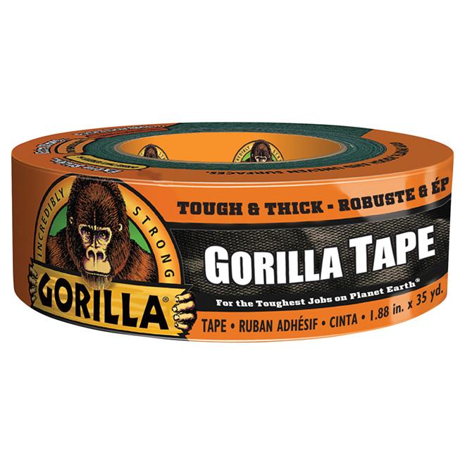 "Adhesive Tape - Tough - 1.8"" x 35yd - Black"