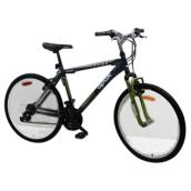 "Men Bicycle - 26"" - Black/Green"