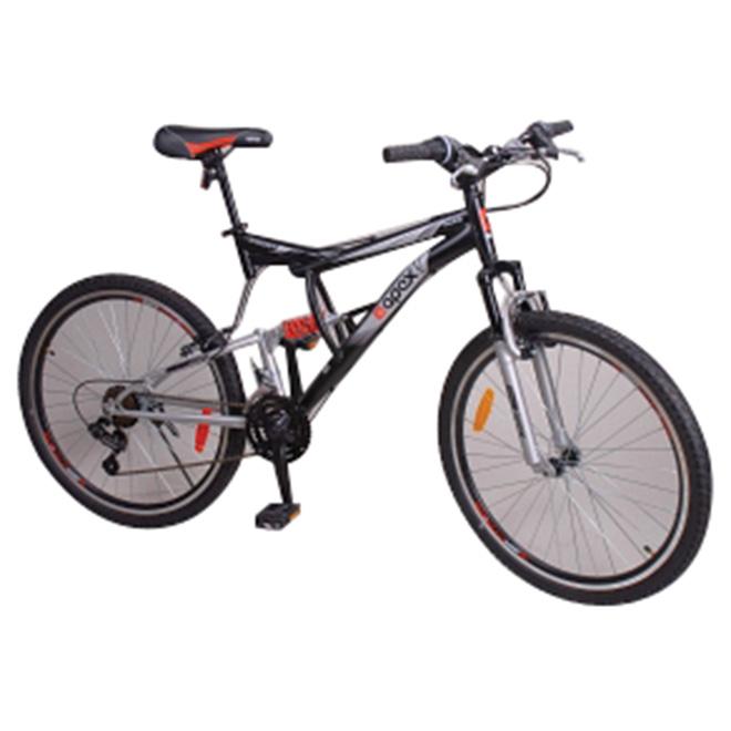 """Bicycette pour hommes, 26"""", noir/orange"""