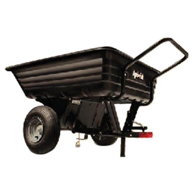 Chariot à tirer/pousser en polyéthylène, 8 pi³, 350 lb