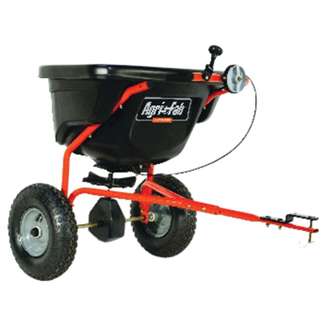 Agri-fab Towable Spreader - 130 lbs Capacity - 25,000 sq. ft. 45-0463