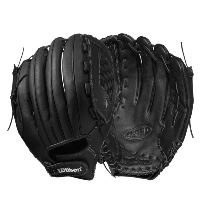 """Slow-Pitch Baseball Glove - Right-hand Throw - 14"""""""