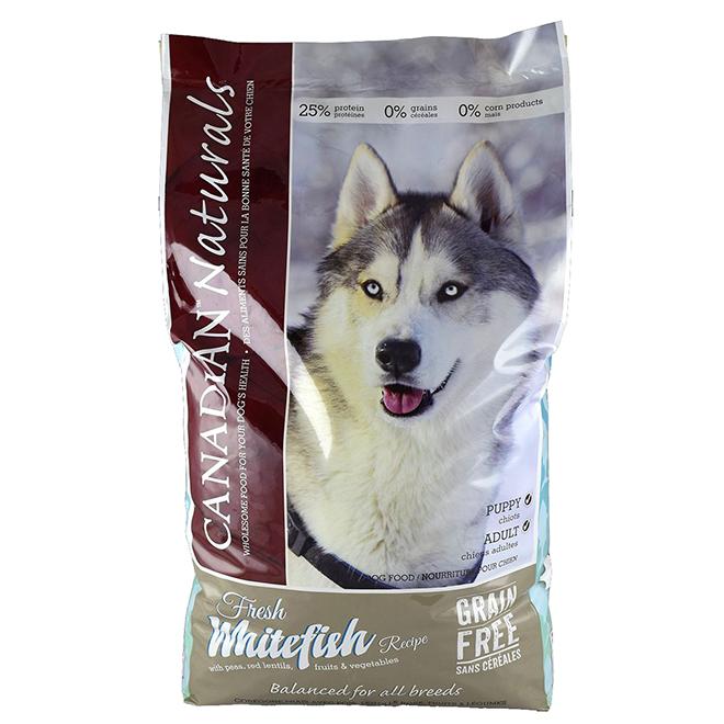 Grain Free White Fish Dog Food - 25lbs