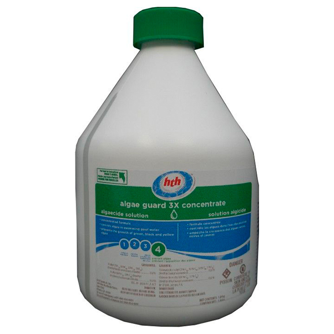 Pool Algaecide - Algae Guard - 3x Concentrate - 1 .12 L