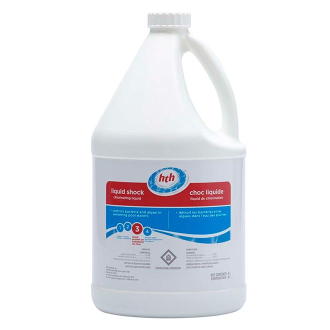 Pool Chlorine Liquid Shock - 4 L