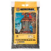 Bird Food - Wild Bird Black Oil Sunflower Seeds - 4 kg
