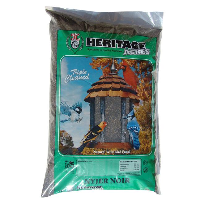 Graines de niger pour oiseaux sauvages, 6,8 kg