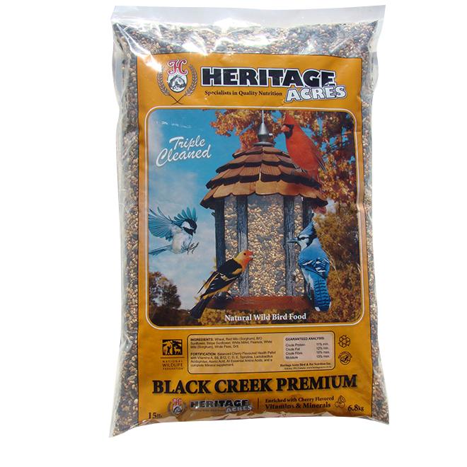 Bird Food - Wild Bird Black Creek - No Corn - 6.8 kg
