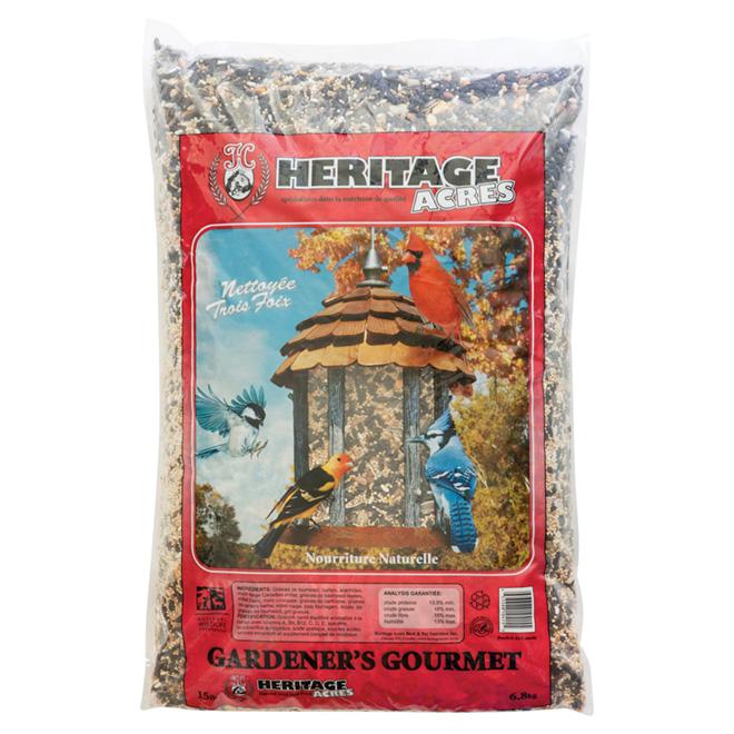 Nourriture Gourmet des jardiniers, oiseaux sauvages, 6,8 kg