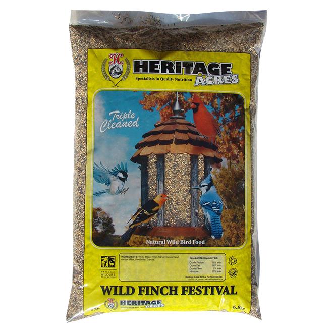 Festival des chardonnerets et oiseaux sauvages, 6,8 kg