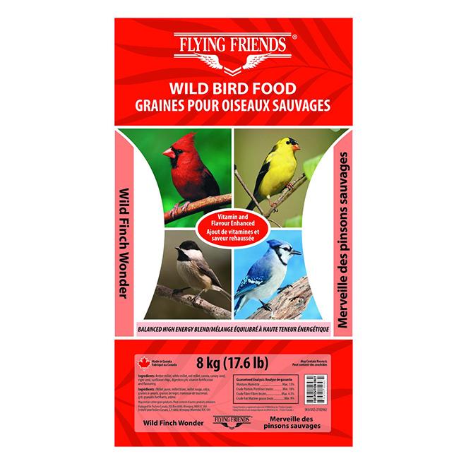 Wild Bird Food - Wild Finch Wonder - 8kg