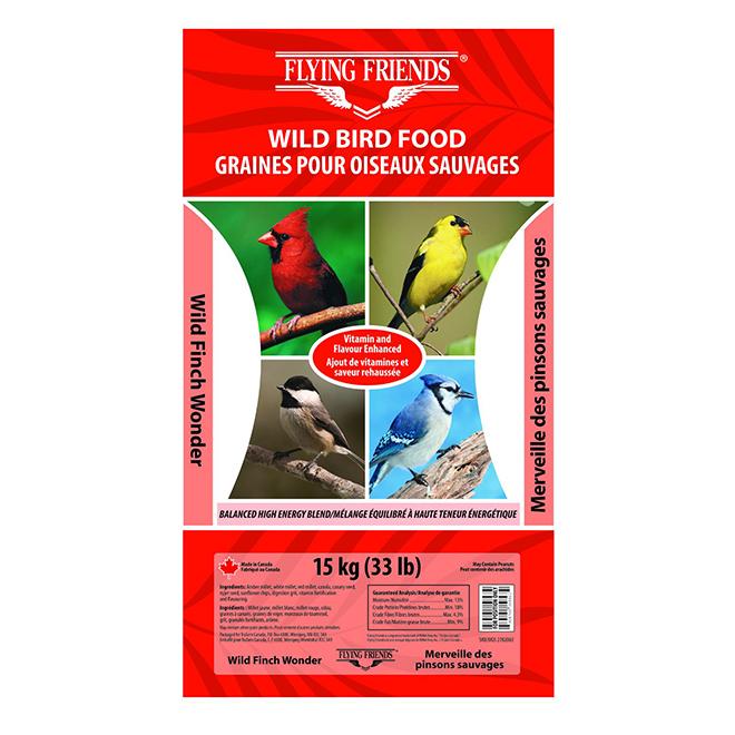 Wild Bird Food - Wild Finch Wonder - 15kg