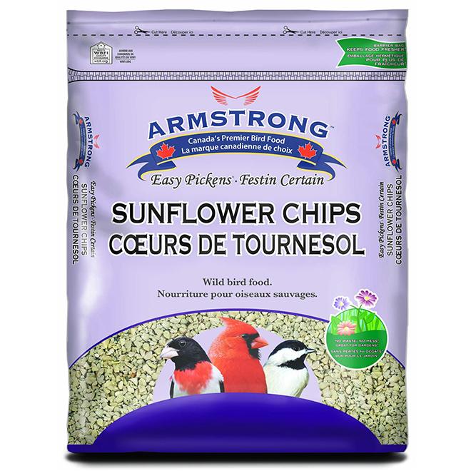 Bird Food - Easy Pickens Sunflower Chips - 1.8 kg