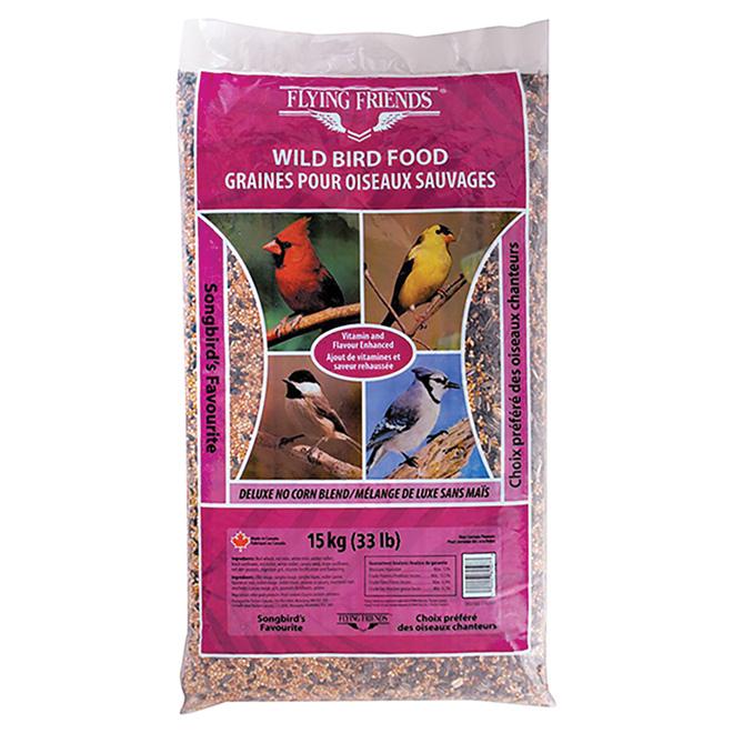 Graines d'oiseaux, Choix préféré des oiseaux chanteurs,15 kg