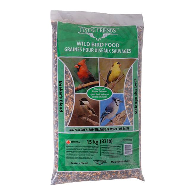 Nourriture pour oiseaux sauvages, mélange des becs, 15 kg